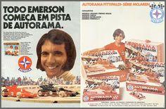 Anuncios Autorama Estrela - Emerson Fittipaldi