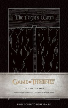 Game of Thrones : Night's Watch Journal by Insight Editions (9781608877195) | hive.co.uk