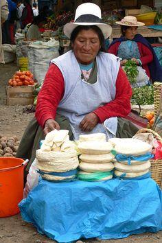 Say cheese, Ollantaytambo market day, Peru