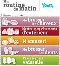 Routine du matin à découper | yoopa.ca Education Positive, Kids Education, Chores For Kids, Activities For Kids, French Dictionary, Teaching French, Motivation, Teaching Tools, Kids Playing