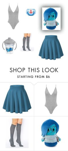"""Blues"" by ry-luve ❤ liked on Polyvore featuring ASOS and Tervis"