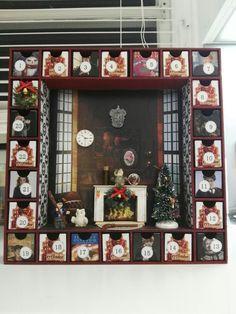 Gryffindor Harry potter themed advent calendar
