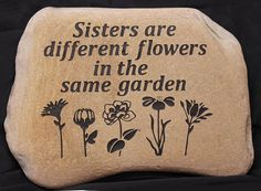 Hand Engraved Rock Custom Garden Stones von GaleStreetStudio