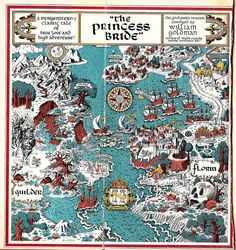 Map of The Princess Bride by William Goldman | by BuildingaLibrary