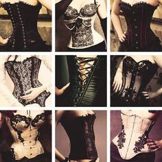 What sissy doesn't adore corsets? I mean, like, how fun is it to have a tight-fitting corset nipping your waist, pushing up your boobs, and . Gothic Corset, Sexy Corset, Gothic Steampunk, Corsets, Stylish Eve, Up Girl, Girly Girl, Gothic Fashion, Rebel Fashion