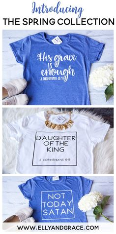 Christian shirts for women by ellyandgrace. Shop the SOFTEST christian shirts in S-2XL at ellyandgrace.com