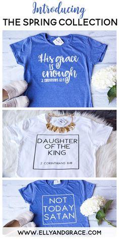 Christian shirts for women by ellyandgrace. Shop the SOFTEST christian shirts in S-2XL at ellyandgrace.com