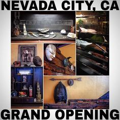 We've always got tricks up our sleeves. This time you're invited...the deets?? WHAT: New Industrial Storefront WHERE: 319 Broad Street Nevada City CA WHEN: April 10th - April 11th WHY: Because we're bad ass and we do bad ass things.  #GrandOpening #IndustrialArmy #Jewelry #Storefront #IndependentBusiness #BBB #Accessory #Knives #Earrings #Collector #jewellery #fashion #fashionista #new #damascus #jewelryoftheday #nevadacity #nevadacityisnotinnevada #love #familia #bethere #orbesquare…