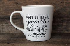 Anything is possible. :: mug by MorningSunshineShop