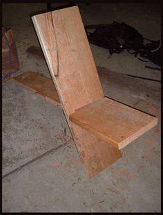 How many pieces do you really need to make a chair? And how much hardware is required, too, for that matter? Perhaps not as much as you might think. This project on Instructables by Jesse Hensel shows how very simple the process can be if your tools are few and your needs straightforward - two c ...