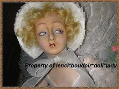 Lenci Dittrich face  boudoir doll lady by lenci*boudoir*doll*lady, via Flickr