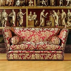 One of the earliest examples of a sofa, the Knole Sofa has quite a pedigree. It was originally an upholstered casual throne on which the...