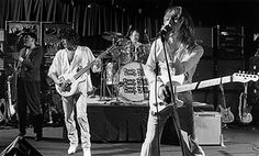 The Rock band Cheap Trick performs at The Paradise on June 9, 1978 in Boston, Massachusetts.