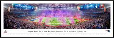 2017 Super Bowl Panoramic Picture - Super Bowl 51 Panorama - Standard Frame $119.95