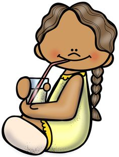 girl drinking - Imagenes Educativas