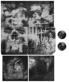 Sutekh Hexen - Larvae LP design by Kevin Gan Yuen