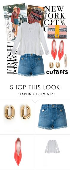 """Summer Staple: Denim Cutoffs"" by emavera ❤ liked on Polyvore featuring CÉLINE and Chloé"