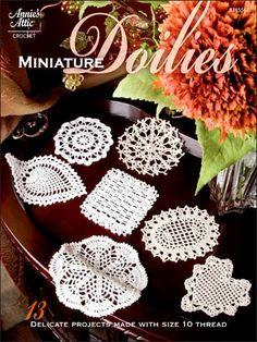 Miniature Doilies crochet patterns $3.95