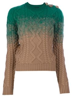 DSQUARED2 - Cable knit sweater by farfetch