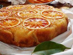 Torta+rovesciata+all'arancia..pronta+in+5'