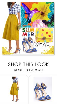 """""""3/9 romwe"""" by fatimka-becirovic ❤ liked on Polyvore"""