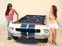 Spare $10k? #Shelby GT Pool Table is a great buy... #Cars #Design