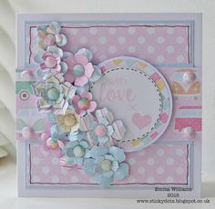 Beside The Seaside by Emma Williams Craftwork Cards, New Baby Cards, Card Sketches, Love Cards, Card Tags, Craft Work, Kids Cards, Creative Cards, Homemade Cards
