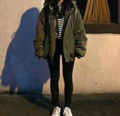 Neueste koreanische Mode-Outfits Lifestyle Source by. - Neueste koreanische Mode-Outfits Lifestyle Source by Fearfoxy outfits korean Edgy Outfits, Mode Outfits, Korean Outfits, Grunge Outfits, Fall Outfits, Fashion Outfits, Fashion Ideas, Korean Clothes, Fashion Fashion