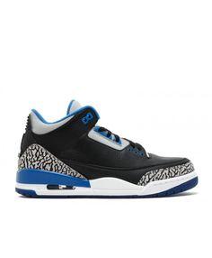 Air Jordan 3 Retro Sport Blue Black Sport Blue Wolf Grey 136064 007 Air Jordan 3, Air Jordan Shoes, Retro Shoes, Wolf, Jordans, Kicks, Sport, Grey, Sneakers