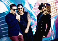 Thirty Seconds to Mars - Jared Leto, Shannon Leto and Tomo Milicevic