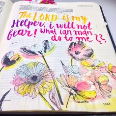 Hebrews 13:25 - Bible journaling with brush pen. By Rebecca sawatsky