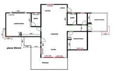 Casa Prefabricada Naltagua 94 mt2 - Casas Prefabricadas