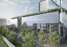 Le Futur Palais de Justice de Paris, Paris, 2012 - RPBW - Renzo Piano Building Workshop