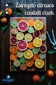 Clean eating - Szuper zsírégető citrusos házi ízesített víz receptek