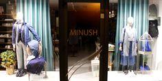 Vetrine PE 2016 del nuovo MINUSH UOMO&DONNA