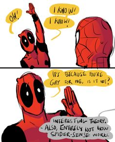 Ask Spider-Man and Deadpool!