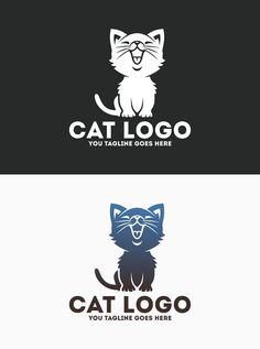 Logo Template Features AI and EPS (Illustrator 10 EPS) CMYK Scalable Vector Files Easy to edit color / text Ready to print Font information at the Luxury Logo Design, Clinic Design, Print Fonts, Cat Logo, Text Color, Vector File, Logo Templates, Company Logo, Logos