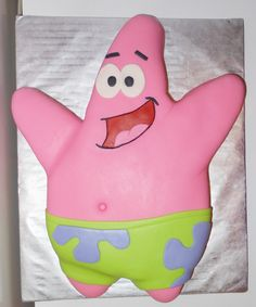 Carla's Cakes: Spongebob and Patrick