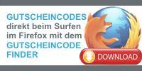 """Mit dem Gutscheine4free Firefox Add-on """"Gutscheincode Finder"""" Rabatt Gutscheincodes für Online Shops direkt beim Surfen anzeigen + einlösen!"""