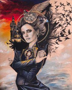 Stunning portrait of Miss Peregrine