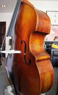 Antiqued Busetto 5 strings professional double bass