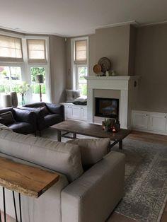 Een schouw in het interieur: het middelpunt | Living rooms, Salons ...
