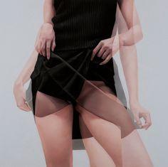 HORYON LEE'S OVERLAPPING IMAGES Exposition Multiple, Wow Art, Human Art, Models, Double Exposure, Portrait Art, Erotic Art, Art Techniques, Contemporary Paintings