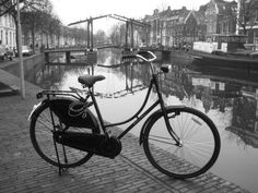 Classic Dutch Oma Bicycle.