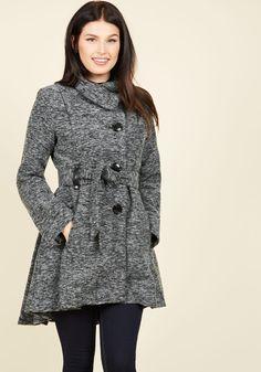 Winterberry Tart Coat in Earl Grey, #ModCloth