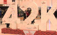 Con la apertura de expo maratón en el Centro de Congresos, se da por iniciado..