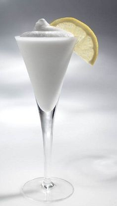 A drink from Venice, Italy…Lemon Sorbetto with lemon sorbet, vodka, and Italian Prosecco or sparkling wine.  youngsophisticatedluxury