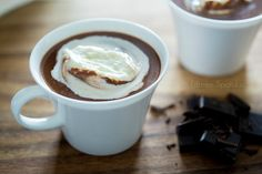 How to make the BEST hot chocolate from scratch