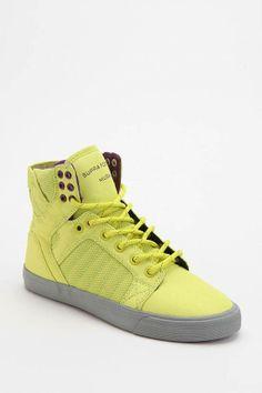 #SUPRA Neon Skytop High-Top Sneaker #urbanoutfitters