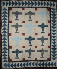 Looking for your next project? You're going to love Airplane Quilt Pattern by designer One Bee Lane. - via @Craftsy